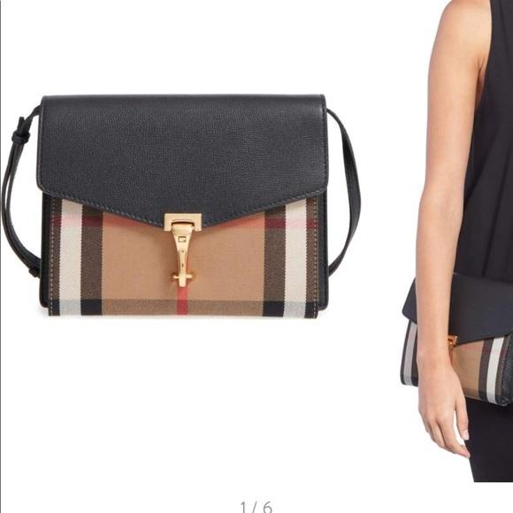 df869b127da9 Burberry Handbags -  Small Macken  House Check Crossbody Bag